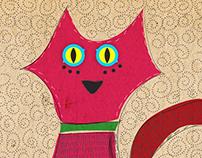 Gatos de colores