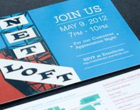 Net Loft Shops // Invite