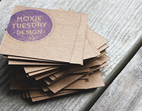 Moxie Tuesday Design // Branding