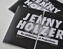 Exhibition poster: Jenny Holzer