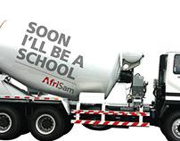 AfriSam Cement Truck
