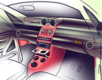 TATA nano - next gen interior