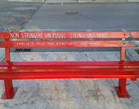 La mia Panchina Rossa a Grottammare