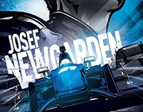 Josef Newgarden/Indycar poster