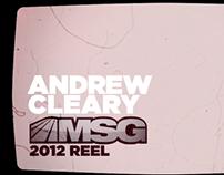 msg networks - reel 2012