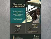 Afiche Lanzamiento de La Múcura