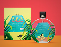 BLUB PERFUME - PACKAGING DESIGN