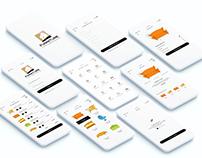Furniture / Home Decoration Mobile App UI