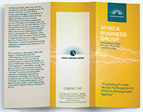 Africa Business Group Sustainable Energy Brochure
