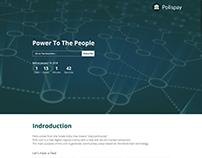 Polispay - Landing Page Design & Development
