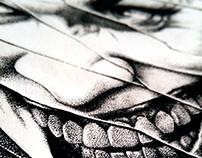 Joker Pointillism