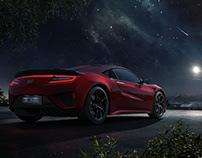 Mondlicht Studios: Honda NSX: full CGI