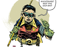 Robin The Boy Nightmare
