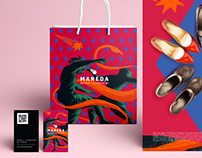 Mareda shoes / illustration & branding