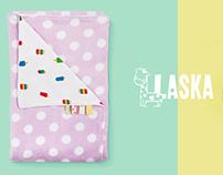 Laska Baby handmade blankets