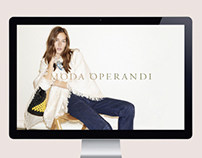 Moda Operandi E-Commerce Website