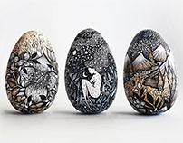 Wooden Eggs 2019