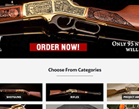 Gun Shop Website