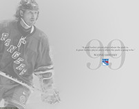 NHL/Rangers Legends Wallpaper Concept