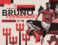 Bruno Fernandes Manchester United /// 2021