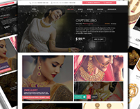 Responsive E commerce Template for Jewellery Shop