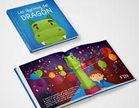 """Children's book - """"Las lágrimas del dragón"""""""