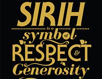 Understanding the Tepak sirih //Poster