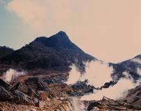 "Ōwakudani - ""Great Boiling Valley"""