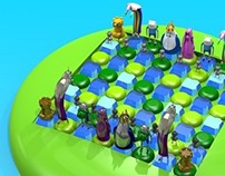 Adventure Time Chess Set