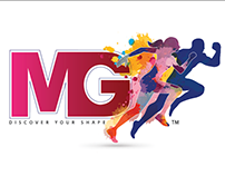 Logo Design & Branding | MG Gym, Gurgaon - Delhi