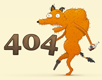 UX Fox 404