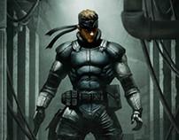 Solid Snake & Big Boss