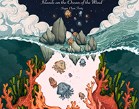 Island on the Ocean of the Mind - Album Cover Design