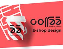 Coffee55 E-shop design