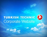Turkish Technic Corporate Website