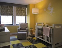 Residential -  Philadephia Baby Girl Nursery