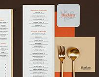 Badam Restaurant Branding