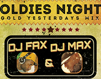 Oldies Night Party Flyer Template