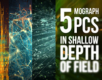 Five Mograph Pieces in Shallow Depth of Field