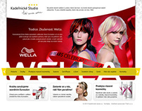 Wella professional hair salons