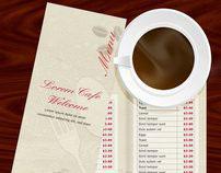Coffee/Restaurant Menu