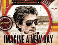 Imagine New Day Flyer Template