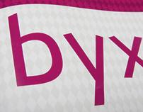 """""""Byx"""" – a sans-serif typeface"""