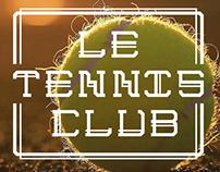 Tennis typeface