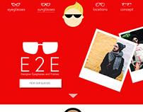 E2E Glasses Website