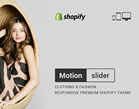 Motion – Clothing & Fashion Responsive Shopify theme