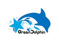 Green Dolphin's Original Sticker