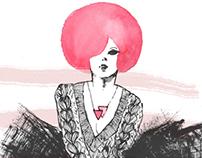 Color Jam (Fashion illustration)