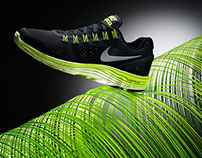 Art Project for Nike LunarGlide+4 Advertising