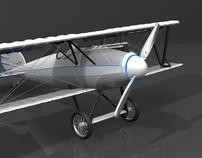 Plane World War I - 3D Modeling